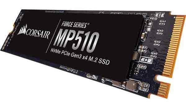 Corsair Force MP510 240GB 3rd Gen. NVMe PCIe M.2 SSD