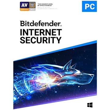 Bitdefender Internet Security ( 1 User 1 Year)