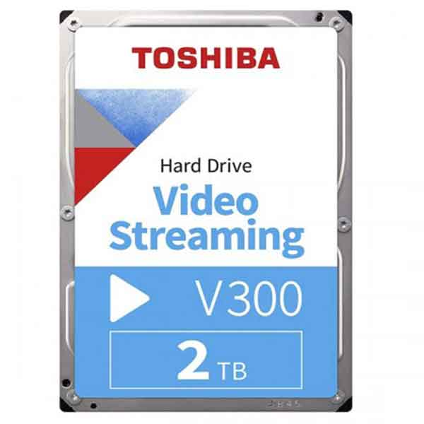 Toshiba 3.5 Inch 2TB SATA Surveillance HDD