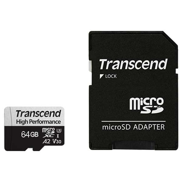 Transcend 330S 64GB microSDXC Memory Card