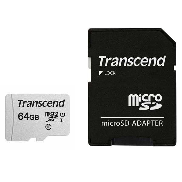 Transcend 300S 64GB microSDXC Memory Card