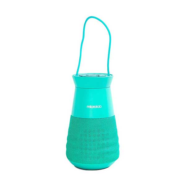 Microlab Lighthouse True Wireless Lantern Green Portable Speaker