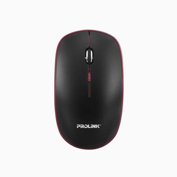 Prolink PMW6006 Wireless Nano Optical Mouse (Black-Red)
