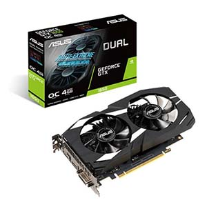 Asus NVIDIA GeForce GTX 1650 Dual 4GB GDDR5 Graphics Card