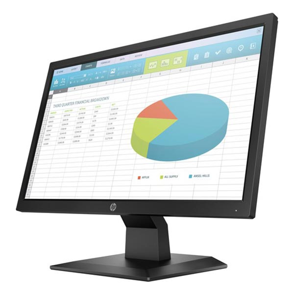 "HP P204 19.5"" Widescreen HD LED Monitor"