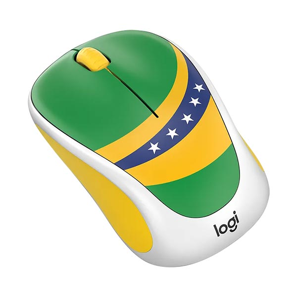 Logitech M238 World Cup Wireless Mouse (Brazil)