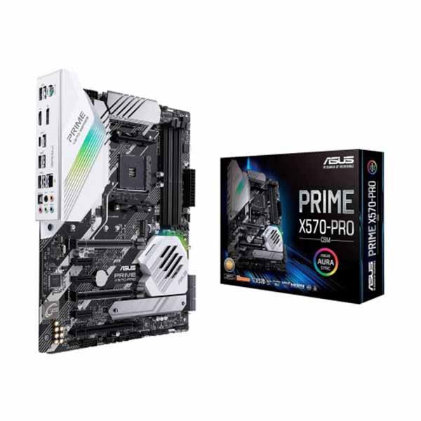 Asus PRIME X570-PRO/CSM DDR4 AMD AM4 Socket Motherboard