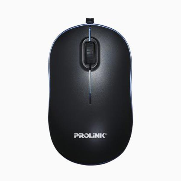 Prolink PMC1006 Nano Optical Mouse (Black-Blue)