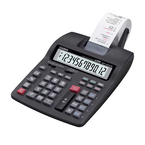 Casio HR-100RC Compact Type/Mini Printer Calculator