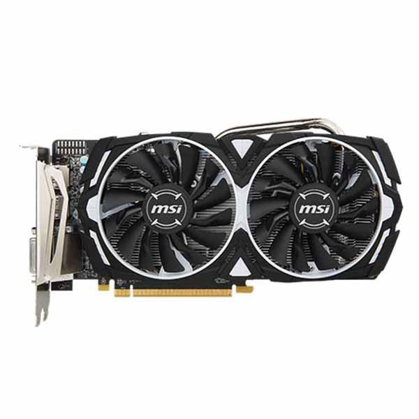 MSI AMD Radeon RX 570 Armor OC 4GB GDDR5 Graphics Card