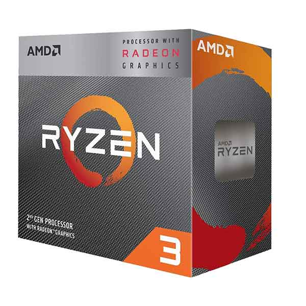 AMD Ryzen 2nd Gen. 3 3200G 3.60GHz AM4 Processor