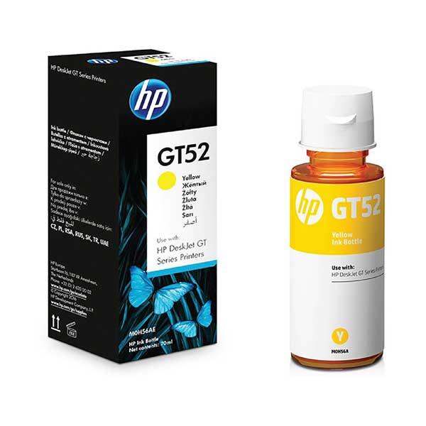 HP GT52 Yellow Ink Bottle