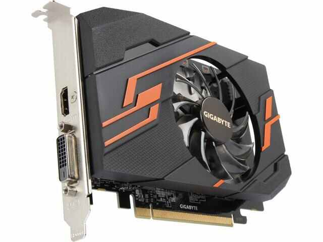 Gigabyte NVIDIA GeForce GV-N1030OC-2G 2GB DDR5 Graphics Card