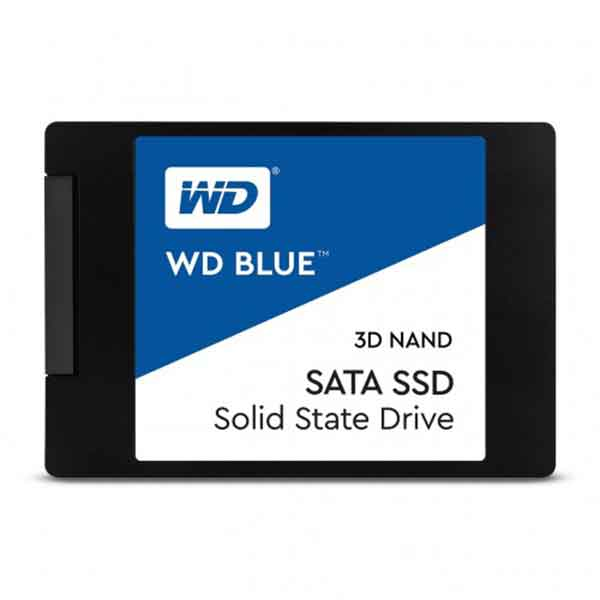 "Western Digital Blue 500GB SATA III 2.5"" Internal SSD"