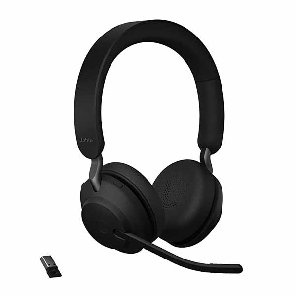 Jabra Evolve2 65 Black MS Stereo Headset