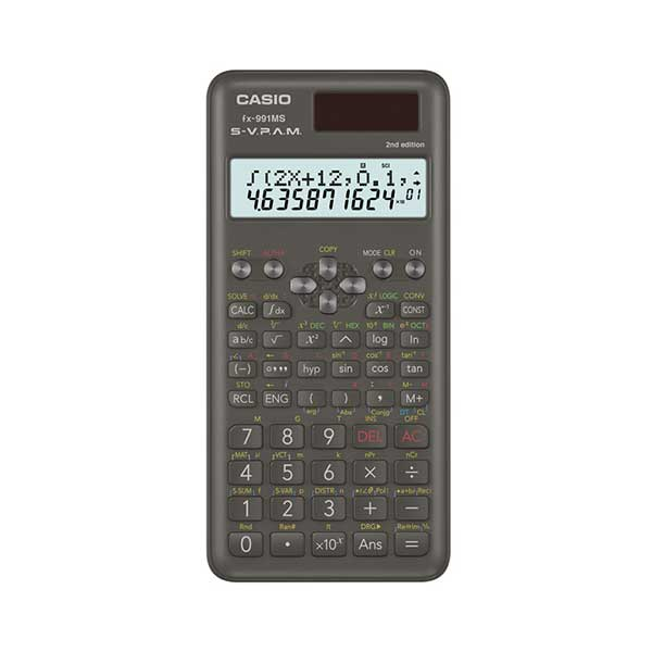 Casio FX-991MS-2 2nd Edition Non Programmable Scientific Calculator