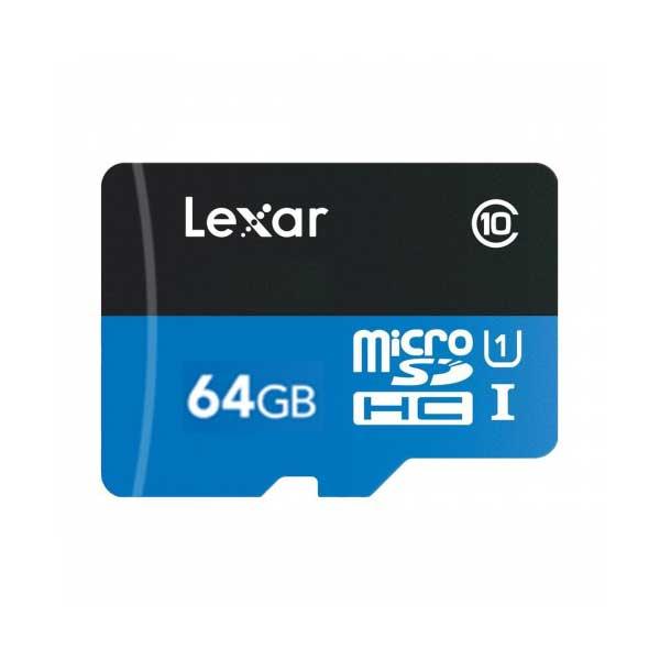 Lexar 64GB microSDHC UHS-I Memory Card