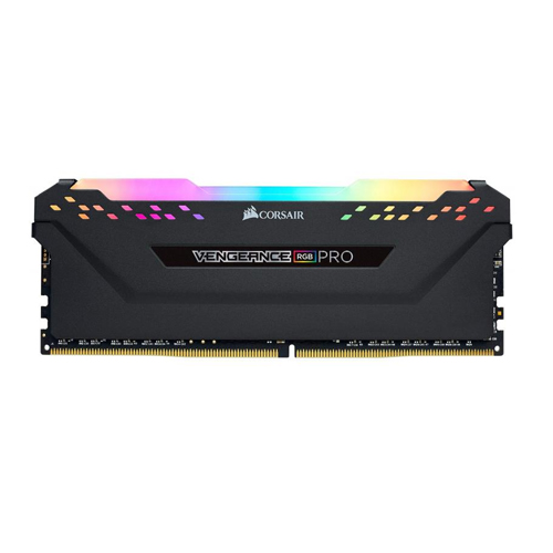 Corsair Vengeance RGB Pro 8GB DDR4 3200MHz Desktop RAM-Black