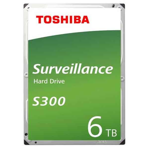 Toshiba 3.5 Inch 6TB SATA Surveillance HDD
