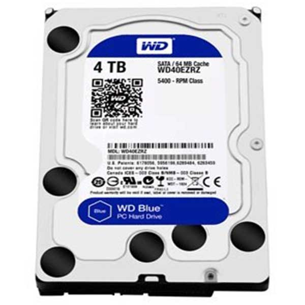 Western Digital 3.5 Inch 4TB (Blue) SATA Survillence HDD