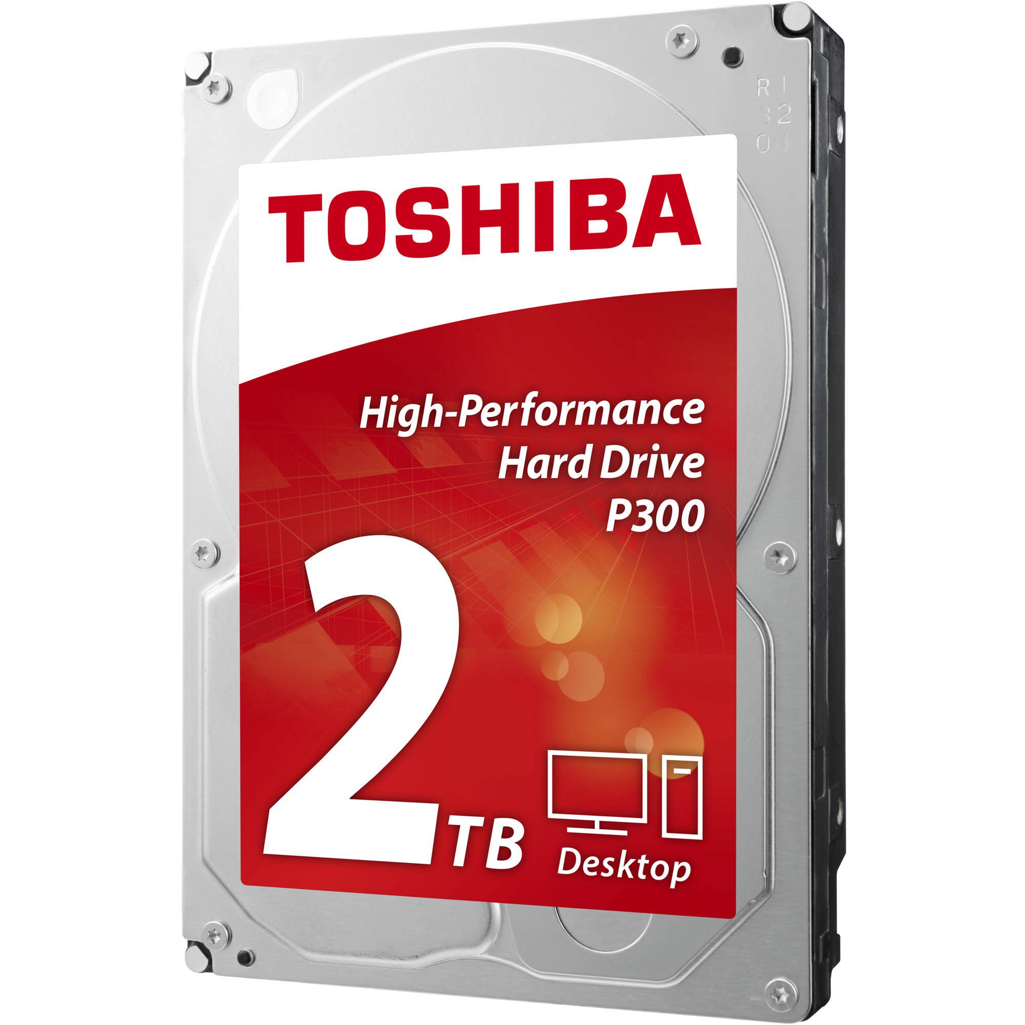 Toshiba 3.5 Inch 2TB SATA Desktop HDD