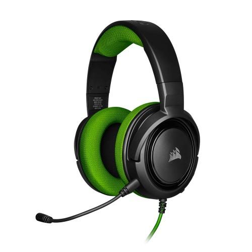 Corsair HS35 Green STEREO Gaming Headset