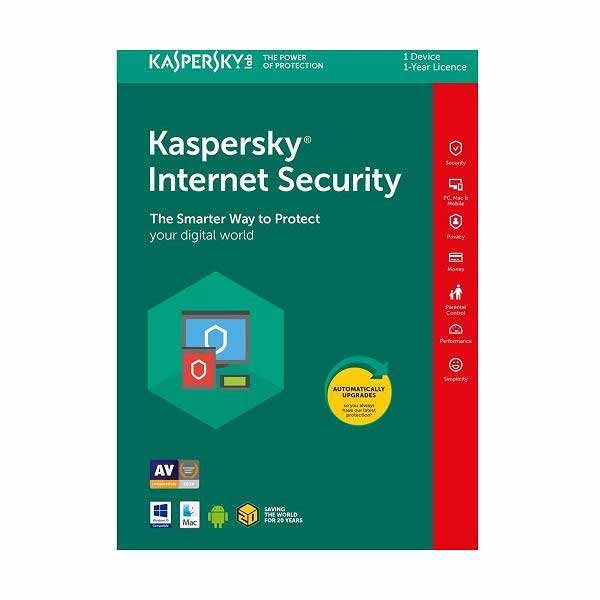 Kaspersky Internet Security ( 1 User 1 Year )