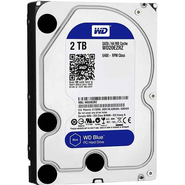 Western Digital 3.5 Inch 2TB (Blue) SATA Desktop HDD