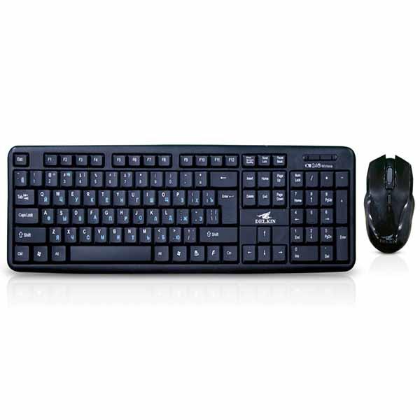 DelkinWKM007 Wireless Keyboard & Mouse Combo