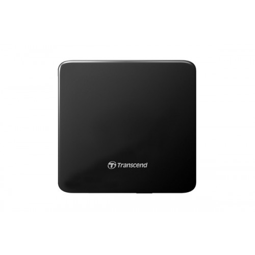 Transcend TS8XDVDS-K Slim External Black DVD Writer