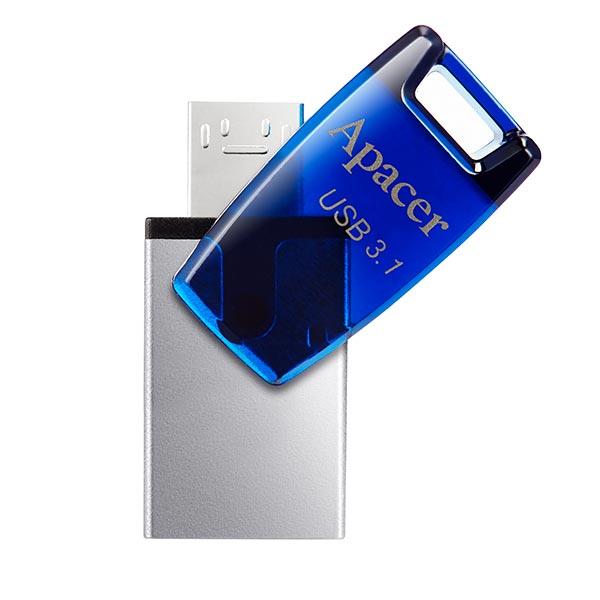 Apacer AH179 USB 3.1 Gen 1 Dual 32GB Blue Pendrive