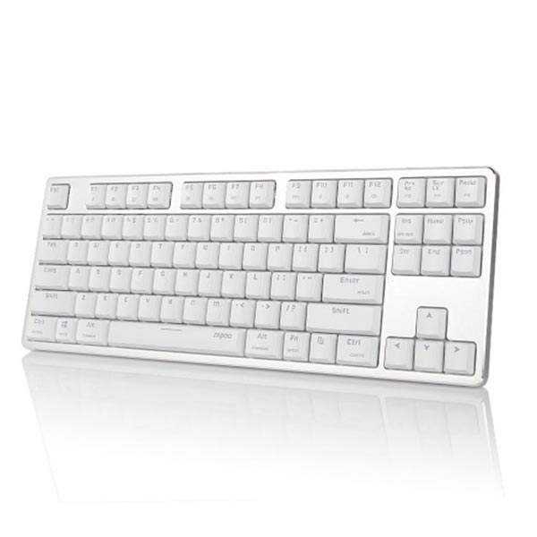 Rapoo MT500 USB Backlit Mechanical White Gaming Keyboard