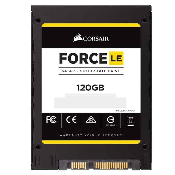 "Corsair Force LE 200 120GB SATA III 2.5"" Internal SSD"