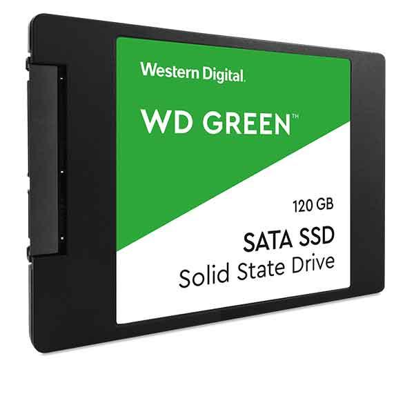 "Western Digital Green 120GB SATA III 2.5"" Internal SSD"