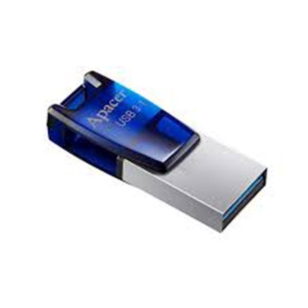 Apacer AH179 USB 3.1 Gen1 Dual 64GB Blue Pendrive