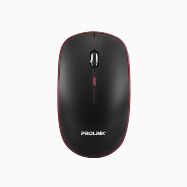 Prolink PMW6006 Wireless Nano Optical Mouse (Black-Red)