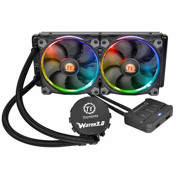Thermaltake Water 3.0 Ring RGB 280 Liquid CPU Cooler