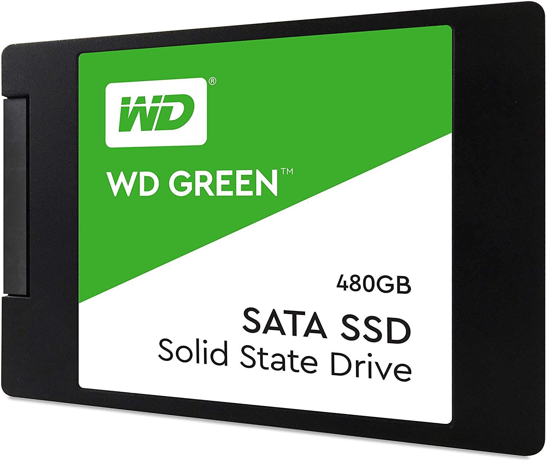 "Western Digital Green 480GB SATA III 2.5"" Internal SSD"