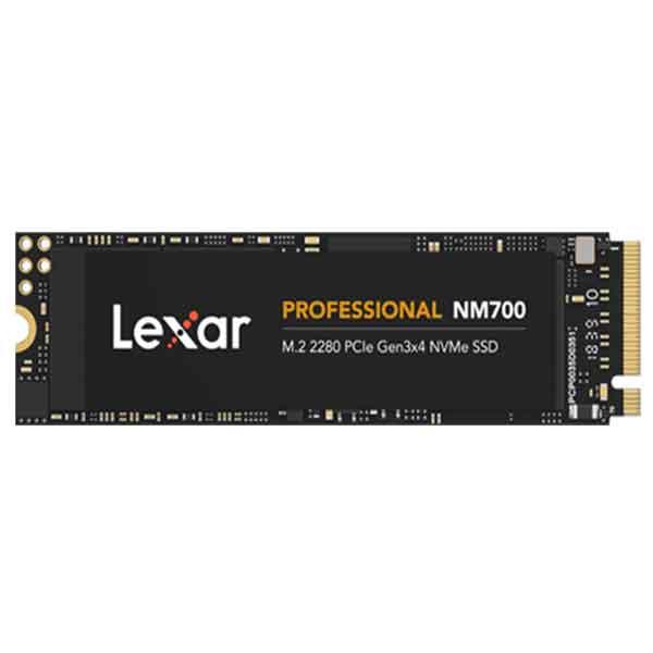 Lexar Professional NM700 NVMe 512GB M.2 2280 PCIe Gen3x4 SSD