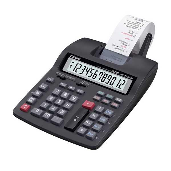 Casio HR-100RC Compact Type/Mini Printer Calculator