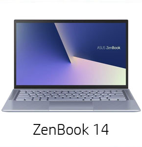 Asus Zenbook 14 10th Gen. Intel Core i7 1065G7 16GB 512GB 14 Inch FHD Windows 10 Pro Pine Grey Notebook