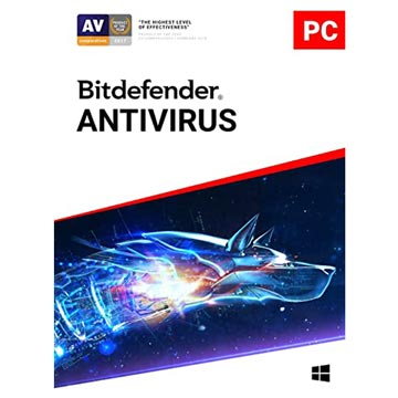 Bitdefender Antivirus ( 1 User 1 Year)