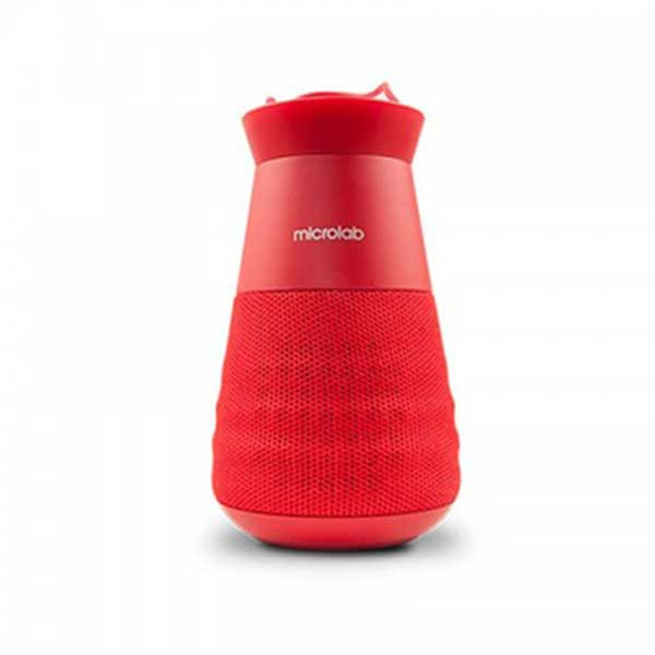 Microlab Lighthouse True Wireless Portable Lantern Red Speaker