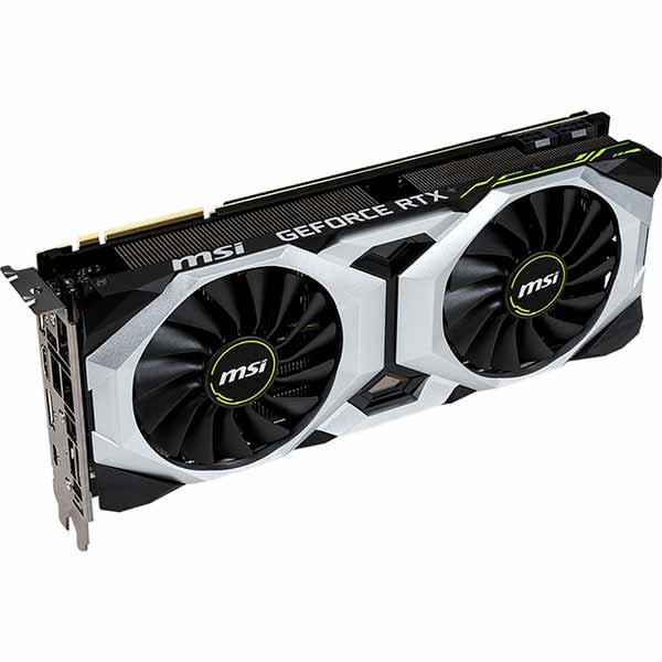 MSI NVIDIA GeForce RTX 2080 VENTUS 8G V2 8GB GDDR6 Graphics Card