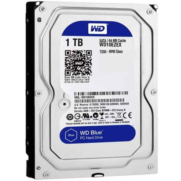 Western Digital 3.5 Inch 1TB (Blue) SATA Desktop HDD