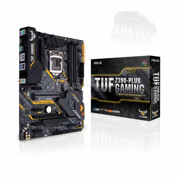 Asus TUF Z390-PLUS GAMING DDR4 8th/9th Generation LGA1151 Socket Motherboard