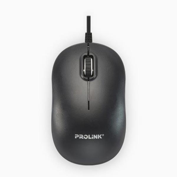 Prolink PMC1006 USB Optical Mouse (Black)