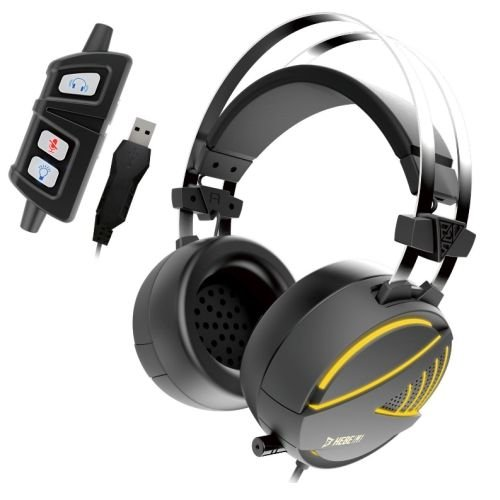 Gamdias HEBE M1 RGB 7.1 Surround Sound Wired Gaming Headset