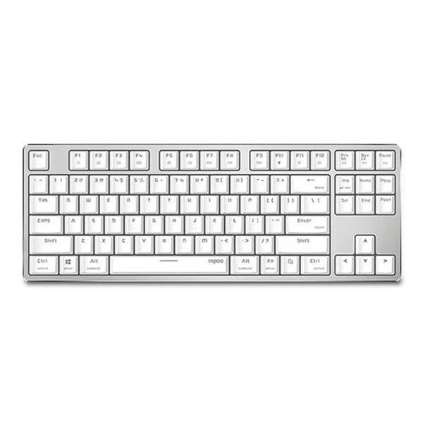 Rapoo VPRO V500S Ice Crystal Backlit Wired White Mechanical Gaming Keyboard