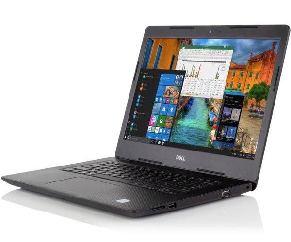 Dell Vostro 14-3481 7th Gen Intel Core i3 7020U 14 Inch Black Notebook